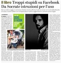 Socrate su Facebook su La Provincia di Cremona - ritagliato