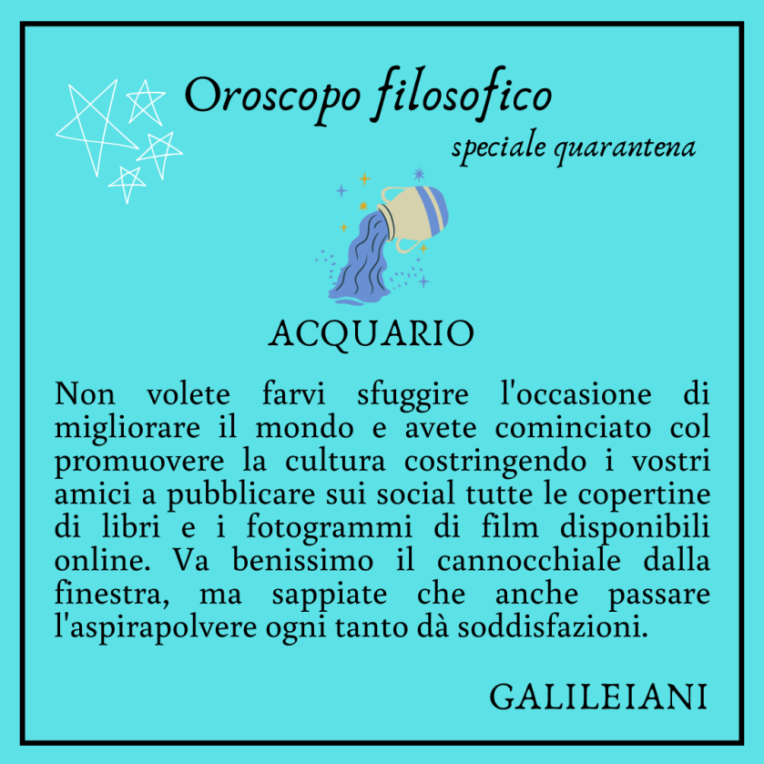 acquario galileo